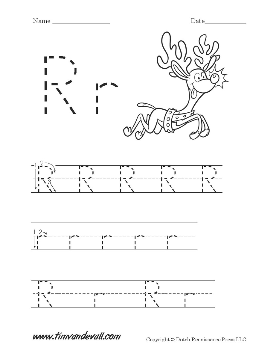 Letter R Worksheets For Preschool
