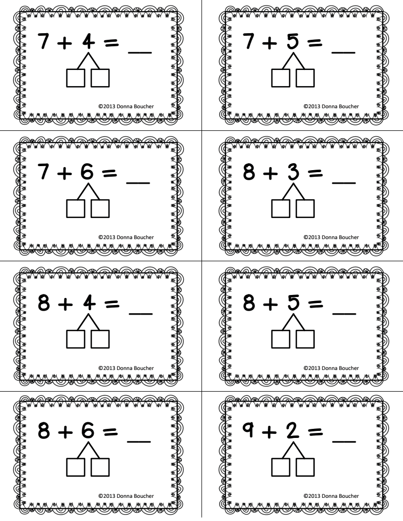 Make A Ten Strategy For Addition Pdf