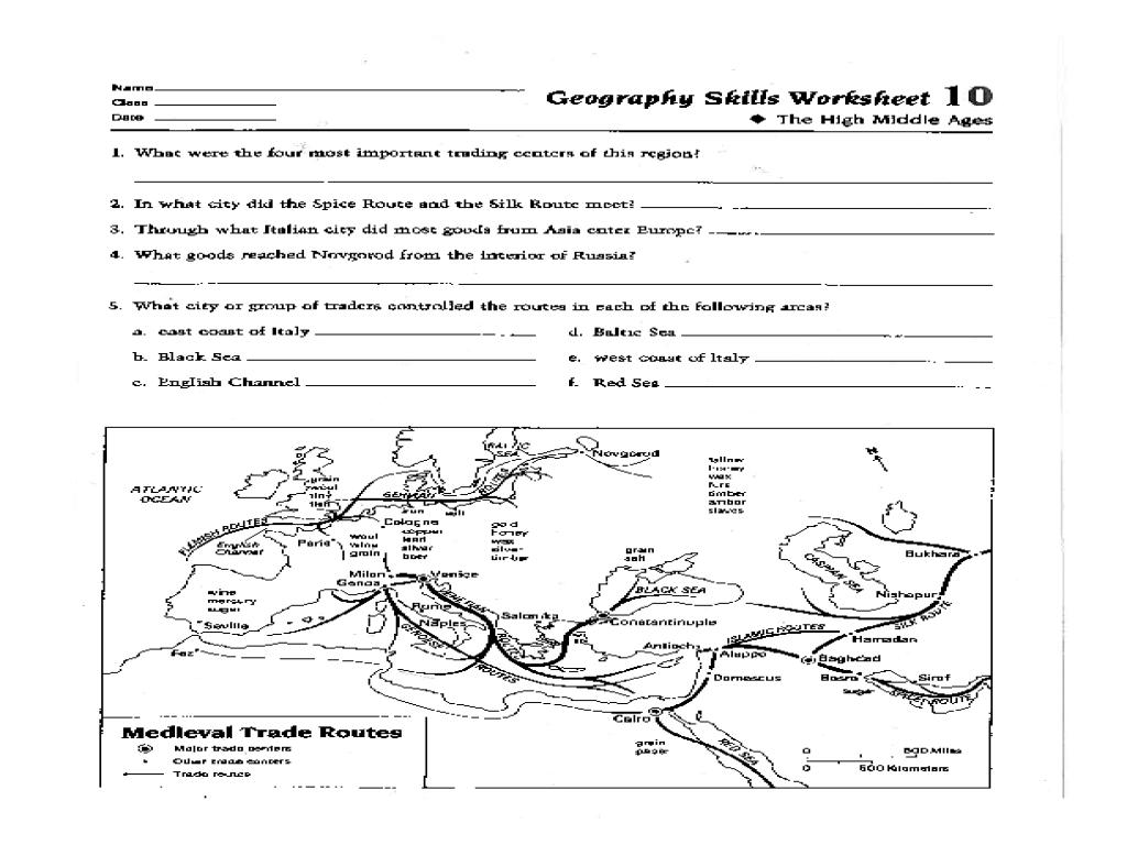 Map Skills Worksheets 5th Grade Worksheets For School