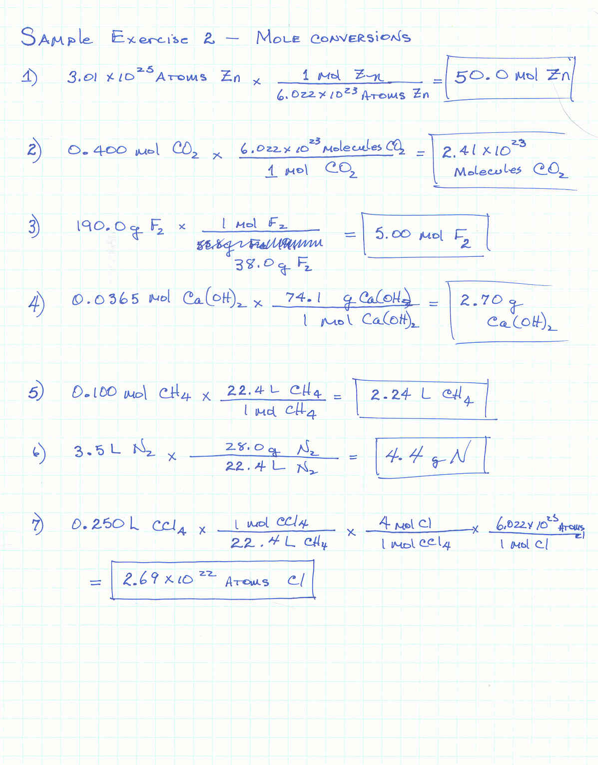 Mass Mole Conversion Worksheet Worksheets For All