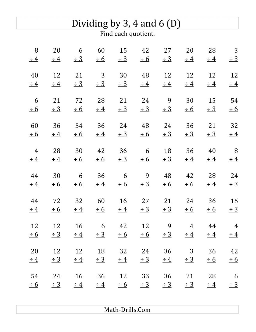 Math Multiplication Worksheets 3rd Grade Mystery Picture And