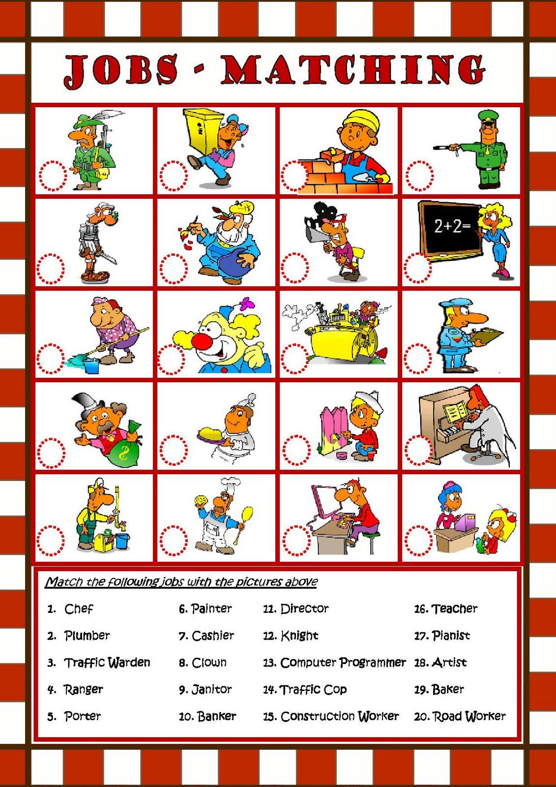 My English Class  Jobs