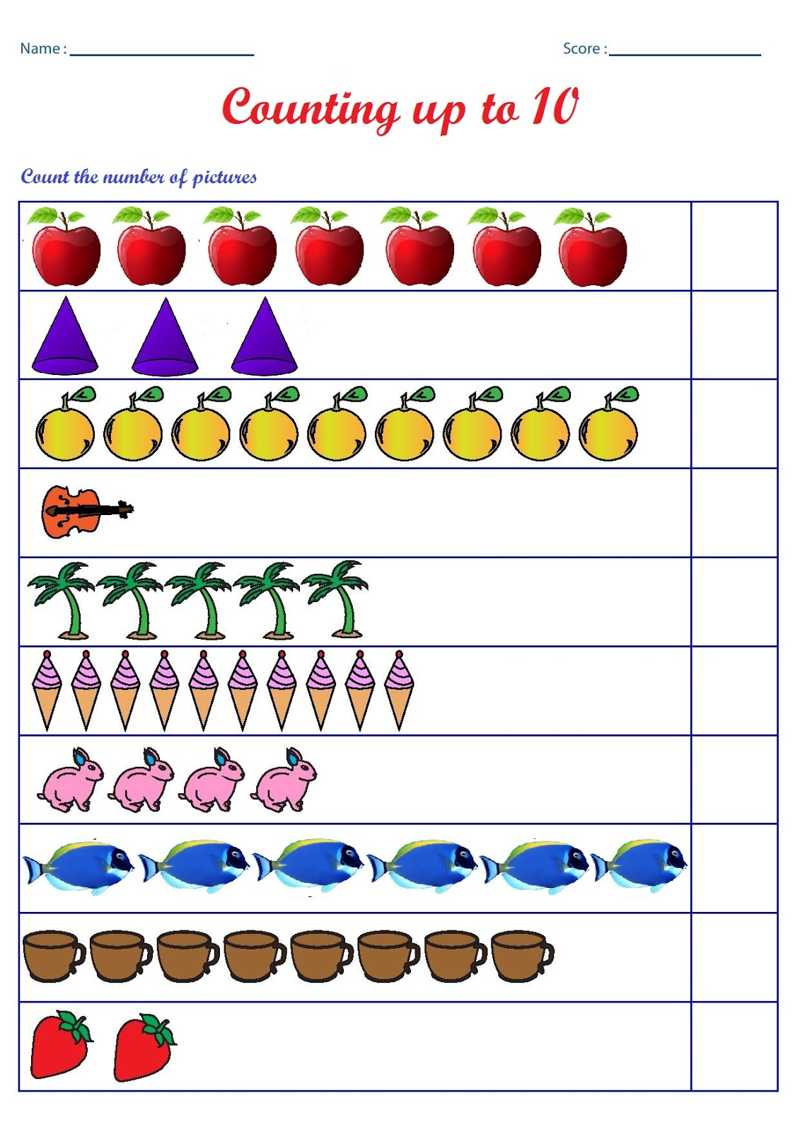 Pin By Sarah Tawfik On Counting Worksheets