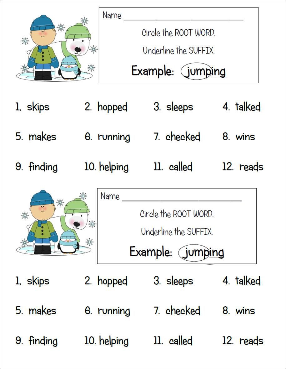 Root Words Practice Worksheet Worksheets For All