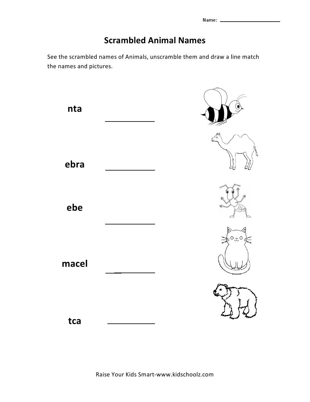 Science Worksheets For Grade 2 Worksheets For All