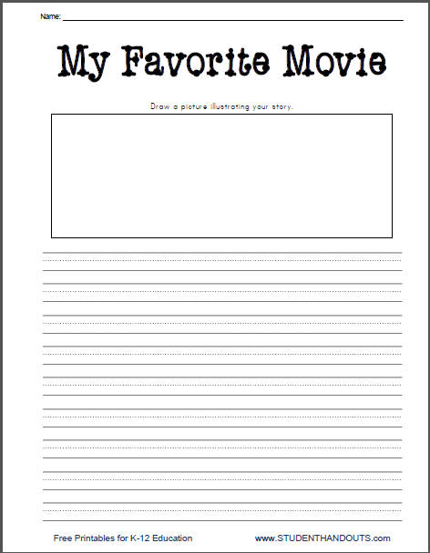 Second Grade Creative Writing Worksheets The Best Worksheets Image