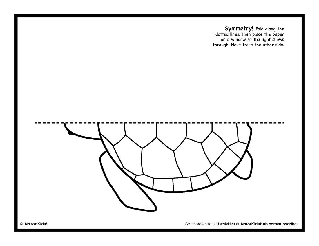 Symmetry Worksheets For Kindergarten