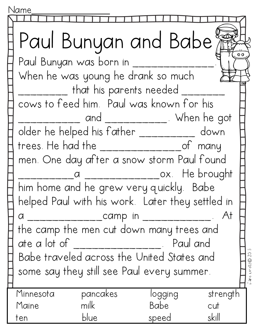 Tall Tales (reader's Theater, Activities And Figurative Language
