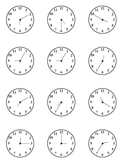 Telling Time Worksheets Spanish The Best Worksheets Image
