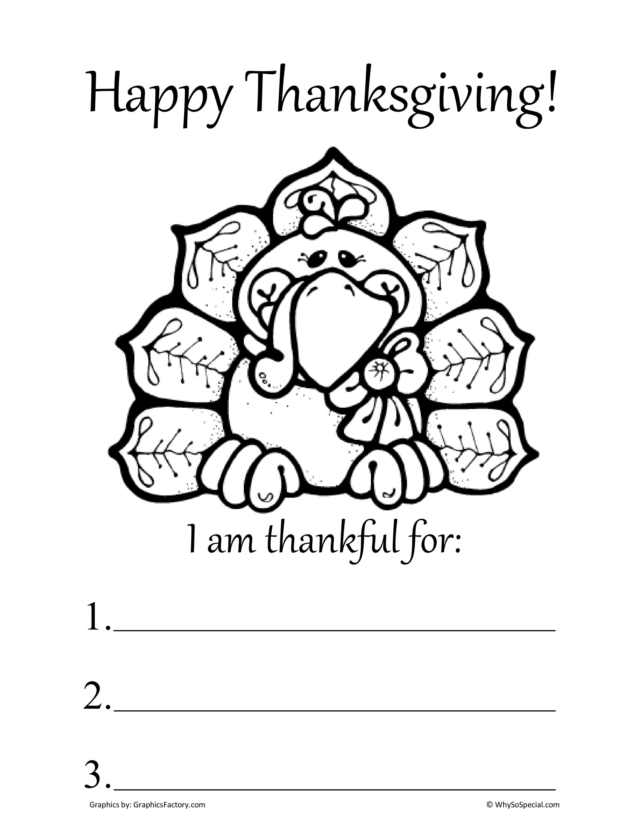 Thanksgiving Worksheets Worksheets For All