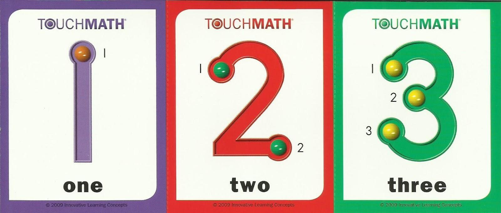 touch math worksheets printable. Black Bedroom Furniture Sets. Home Design Ideas