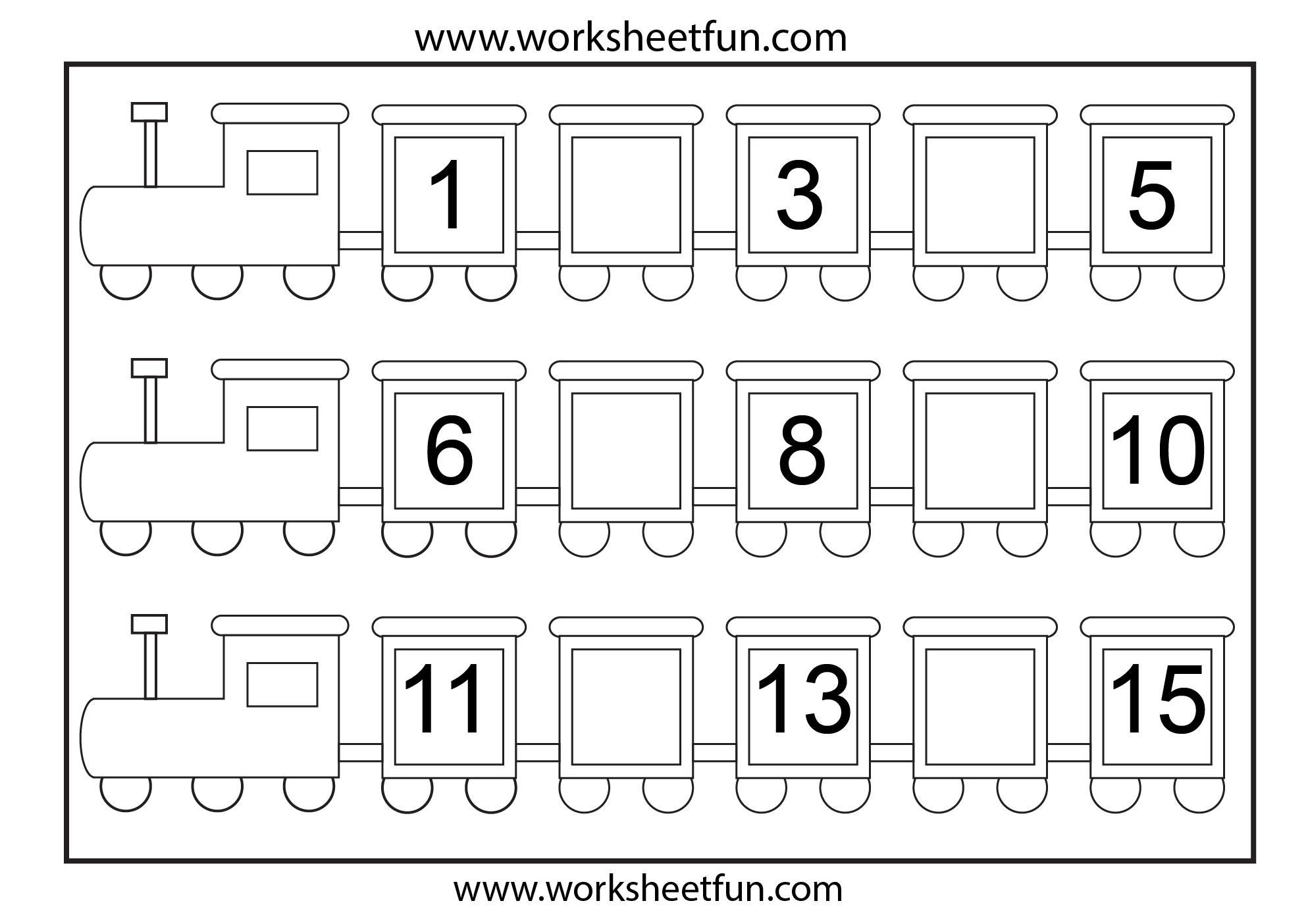 Unusual Kindergarten Number Worksheets Photos