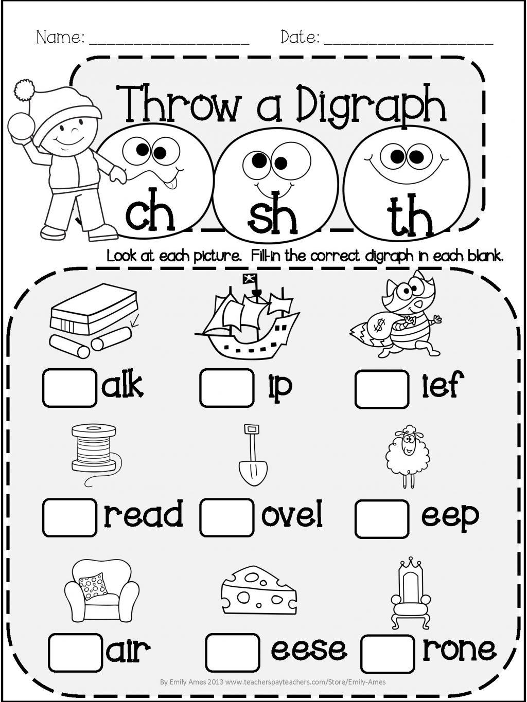 Vowels Andants Worksheets For Kindergarten Math Winter Literacy