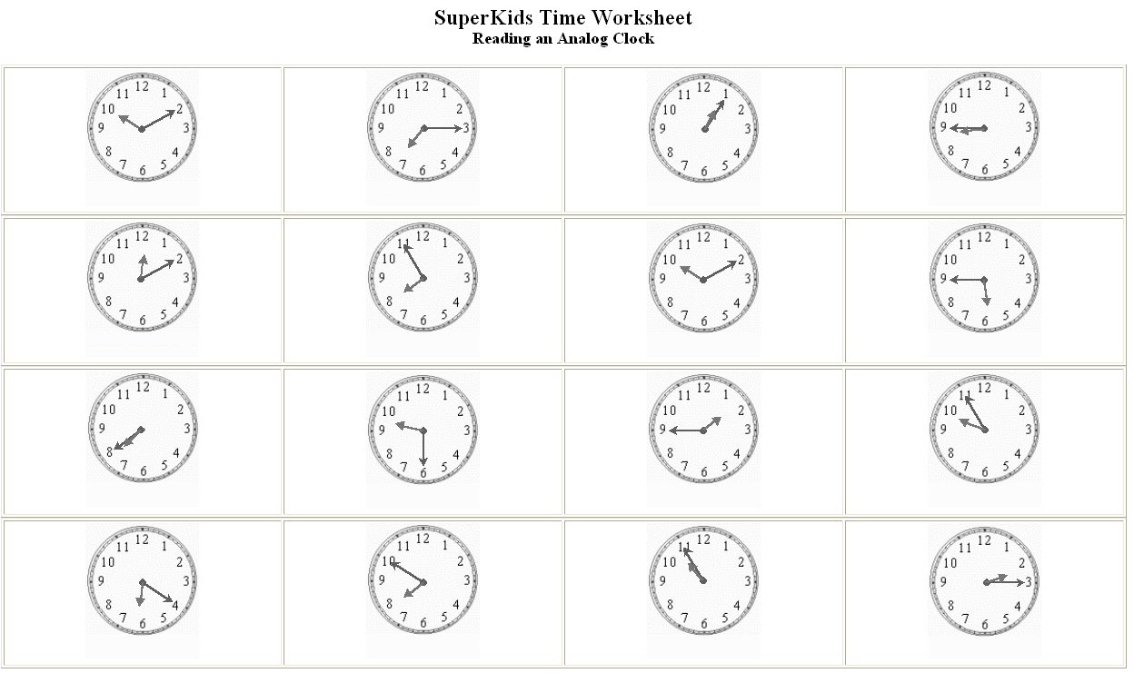 Worksheet  1248741  Spanish Telling Time Worksheets – Time The