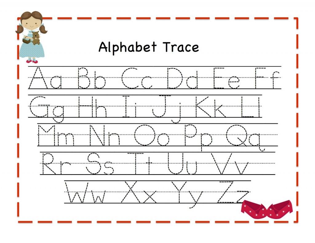 Worksheet  Alphabet Trace Worksheet  Brunokone Worksheet Study Site