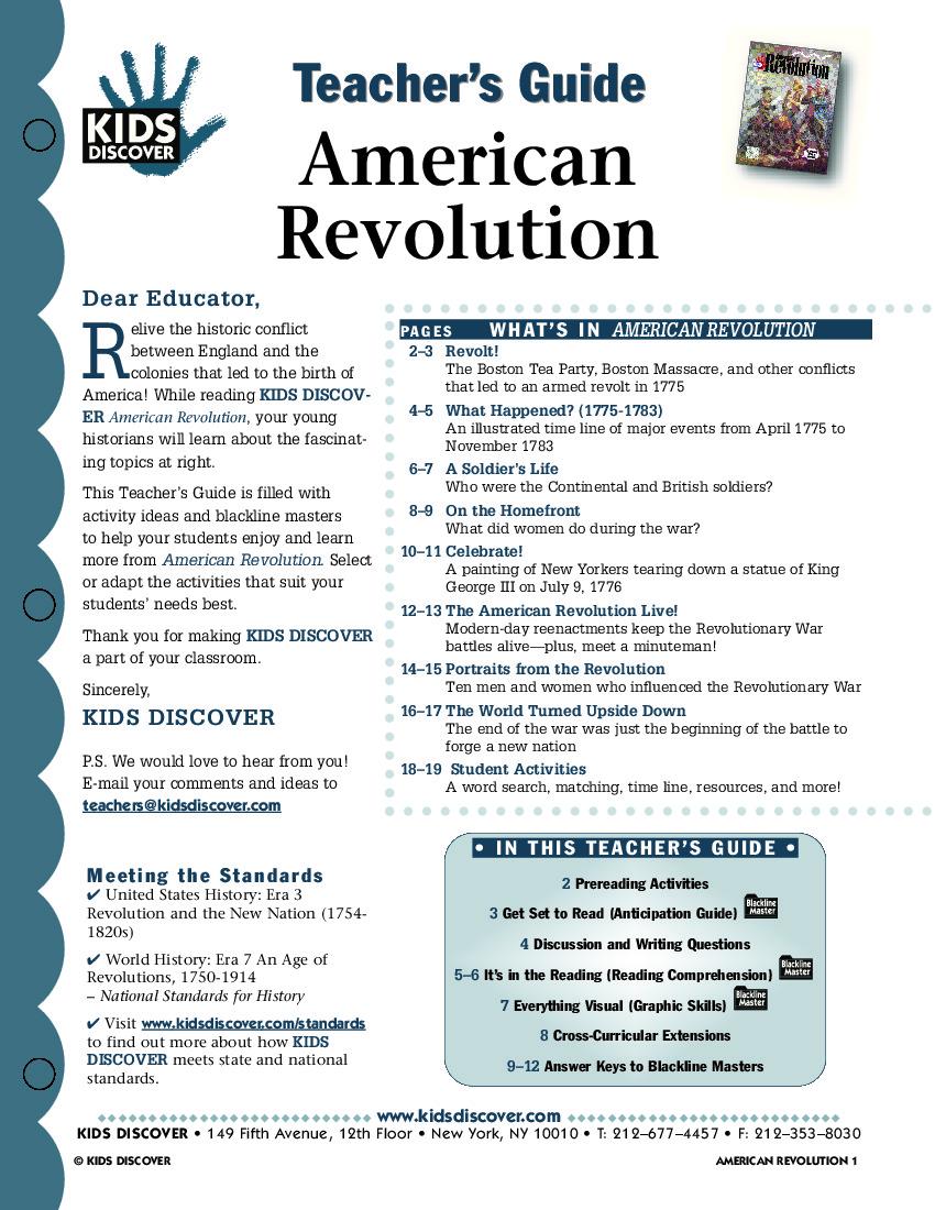 Worksheet  American Revolution Worksheet  Grass Fedjp Worksheet