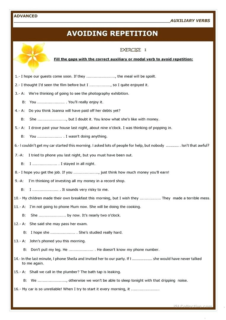 Worksheet  Auxiliary Verb Worksheets Grade 4 Full Screen For 5