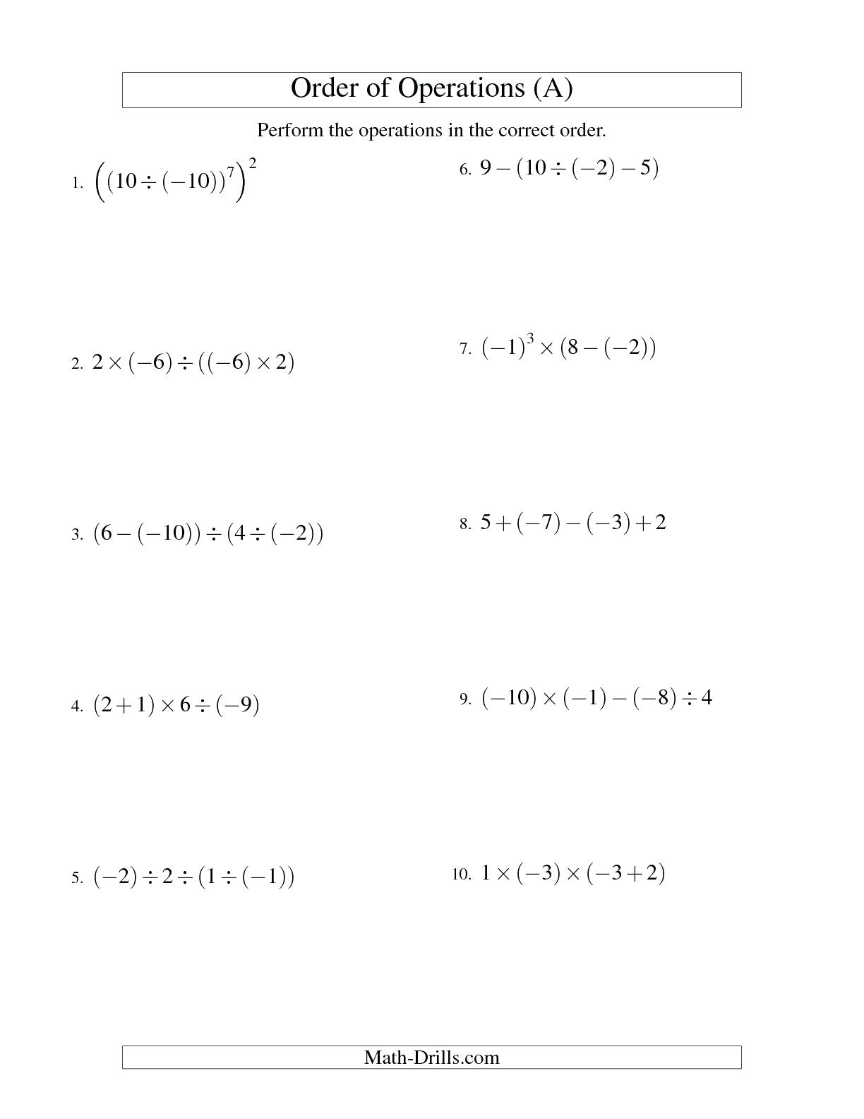Worksheet  Bedmas Worksheets Combine The Round And Sum Functions