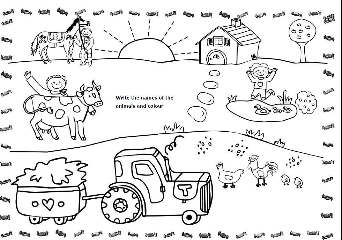 Worksheet  Farm Animal Worksheets  Grass Fedjp Worksheet Study Site