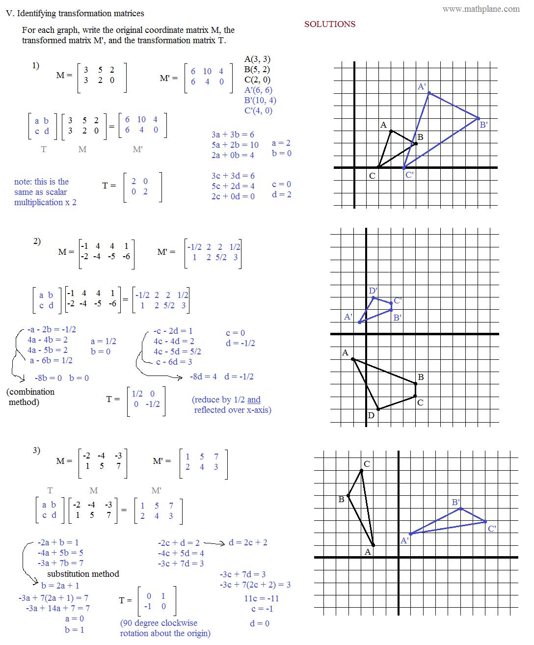 Worksheet  Geometry Translation Worksheet  Grass Fedjp Worksheet