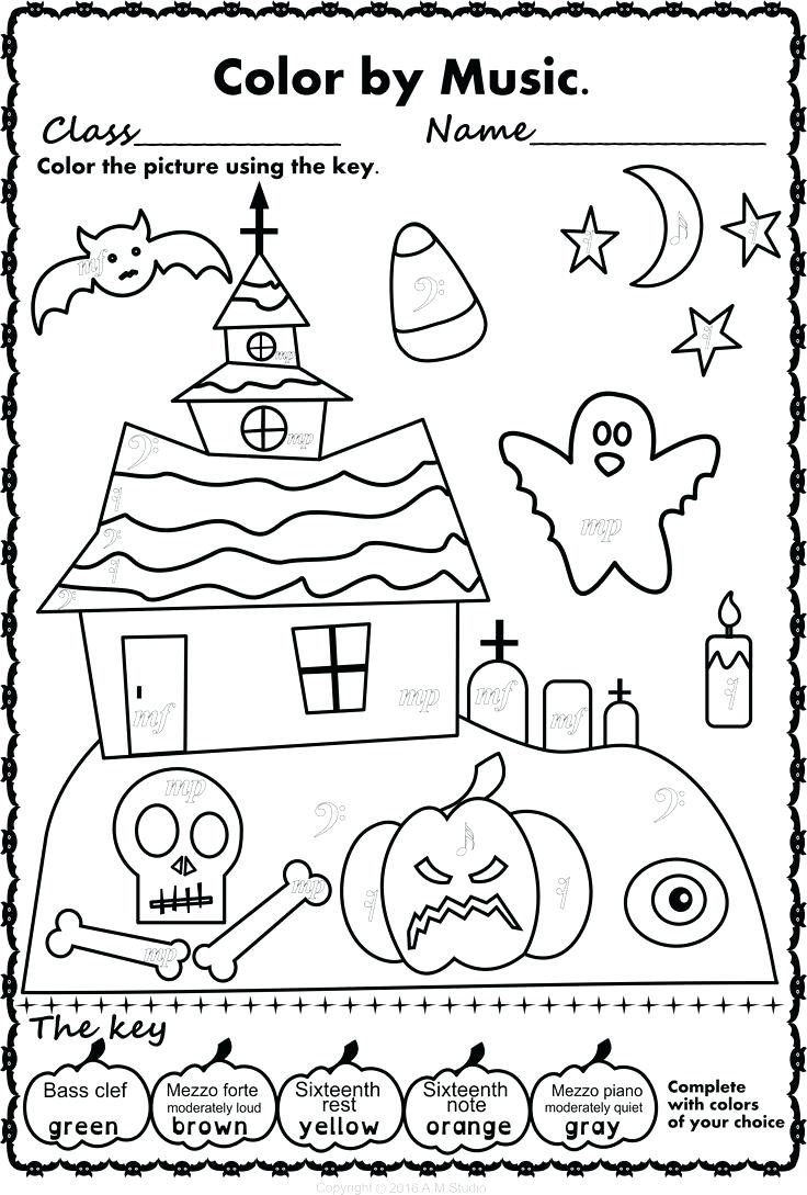 Worksheet  Halloween Music Worksheets Activities A Simple And Fun