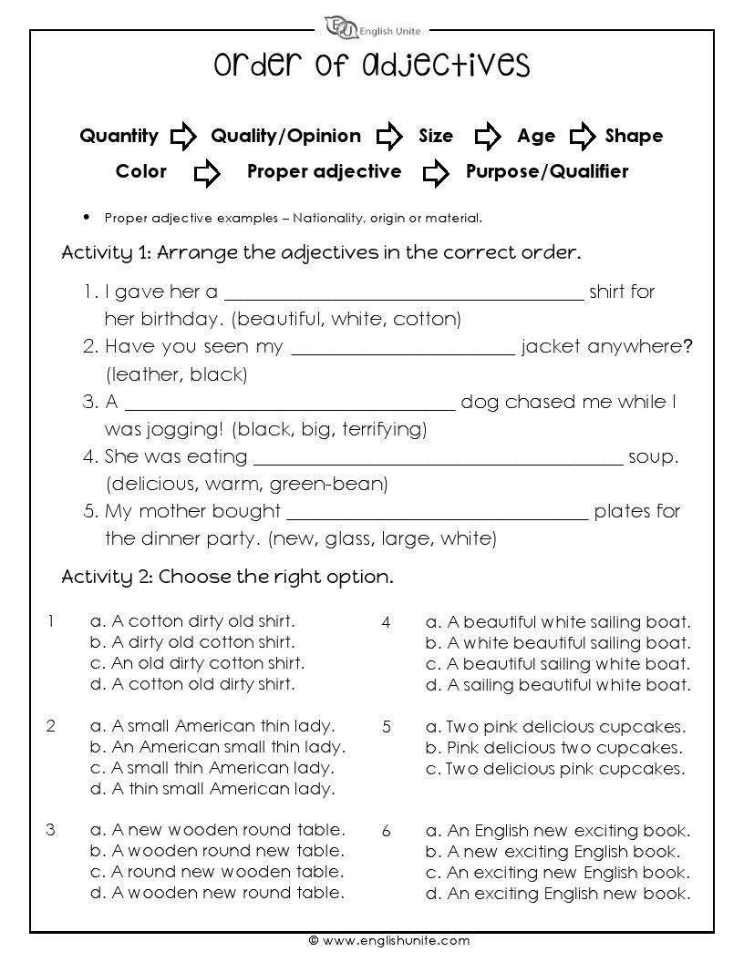 Worksheet  Identifying Adjectives Worksheet  Grass Fedjp Worksheet