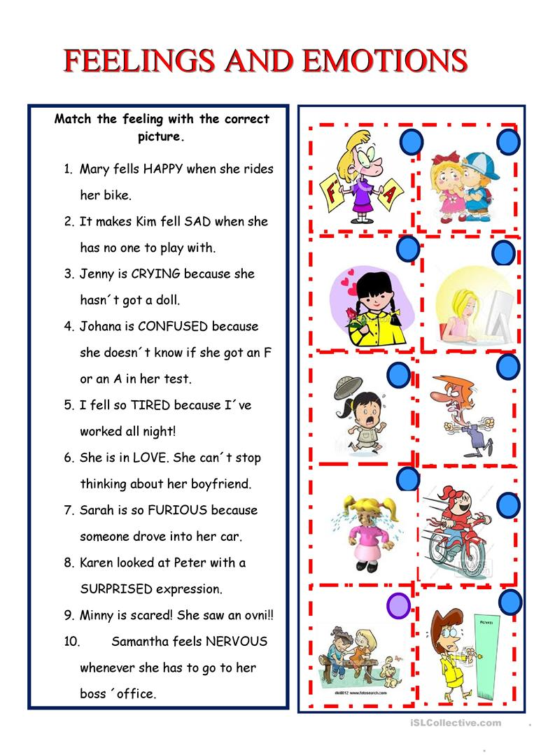 Worksheet  Identifying Emotions Worksheet  Grass Fedjp Worksheet