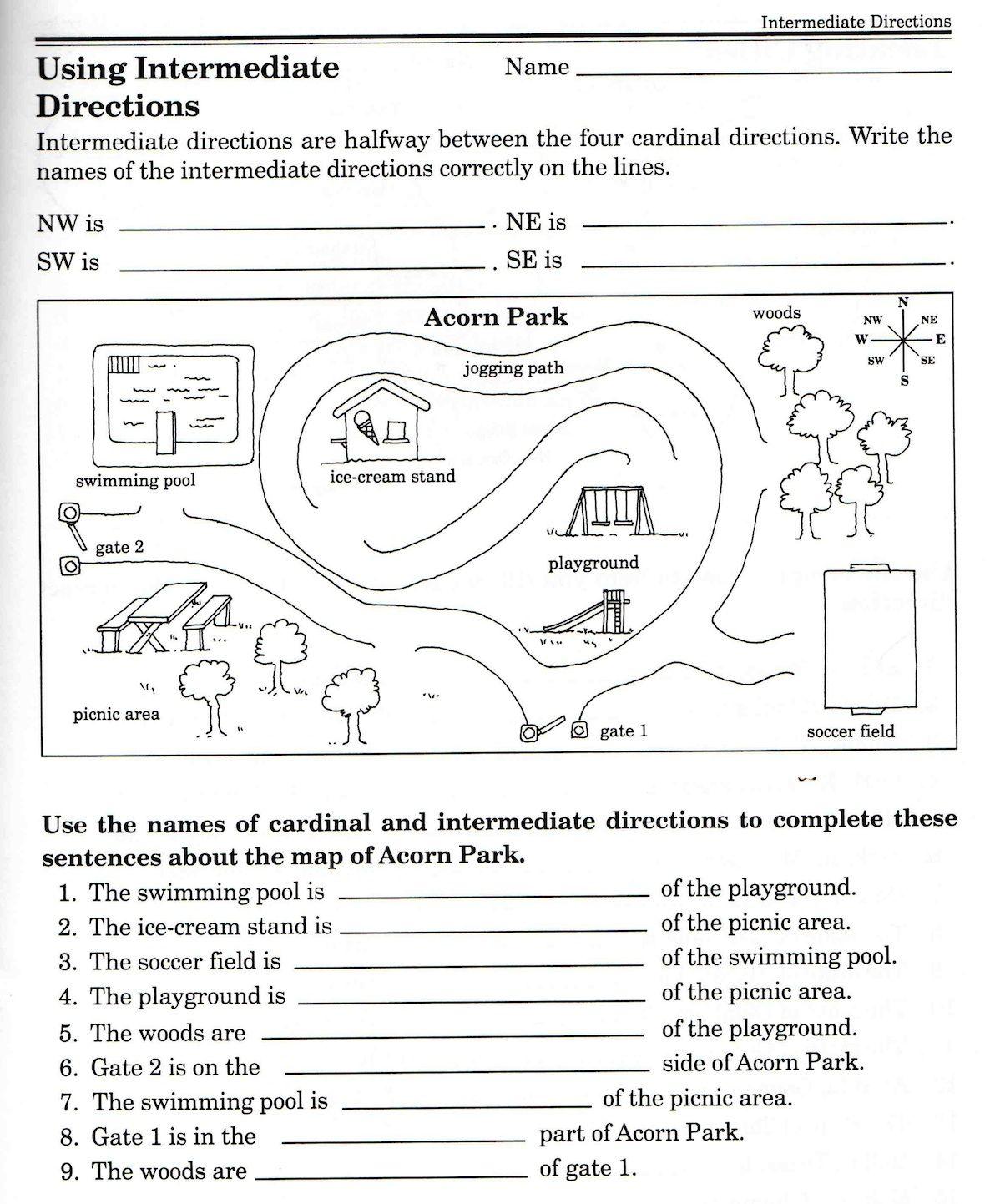 Worksheet  Maps Worksheets  Brunokone Worksheet Study Site