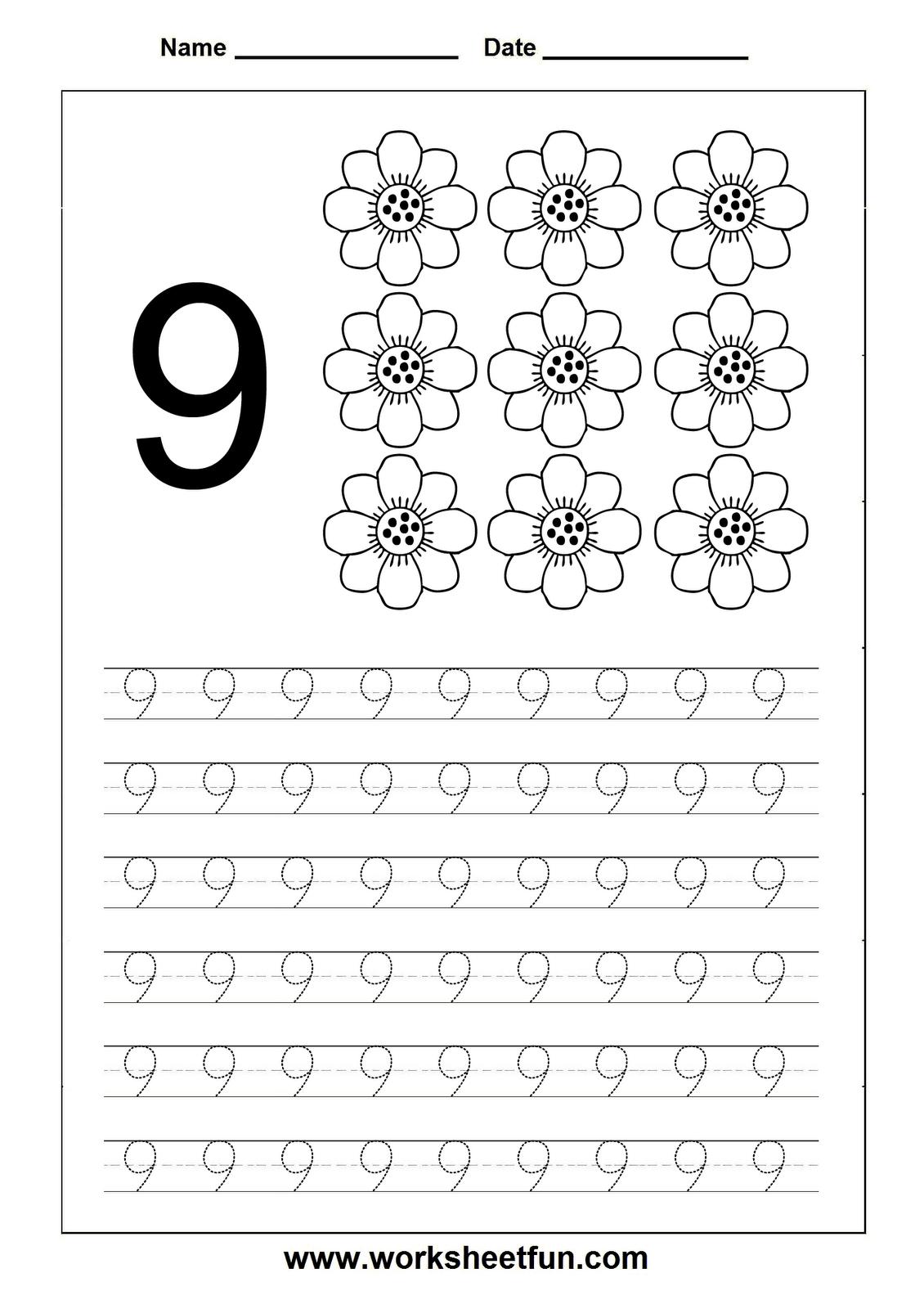 Worksheet  Number 9 Worksheets  Brunokone Worksheet Study Site