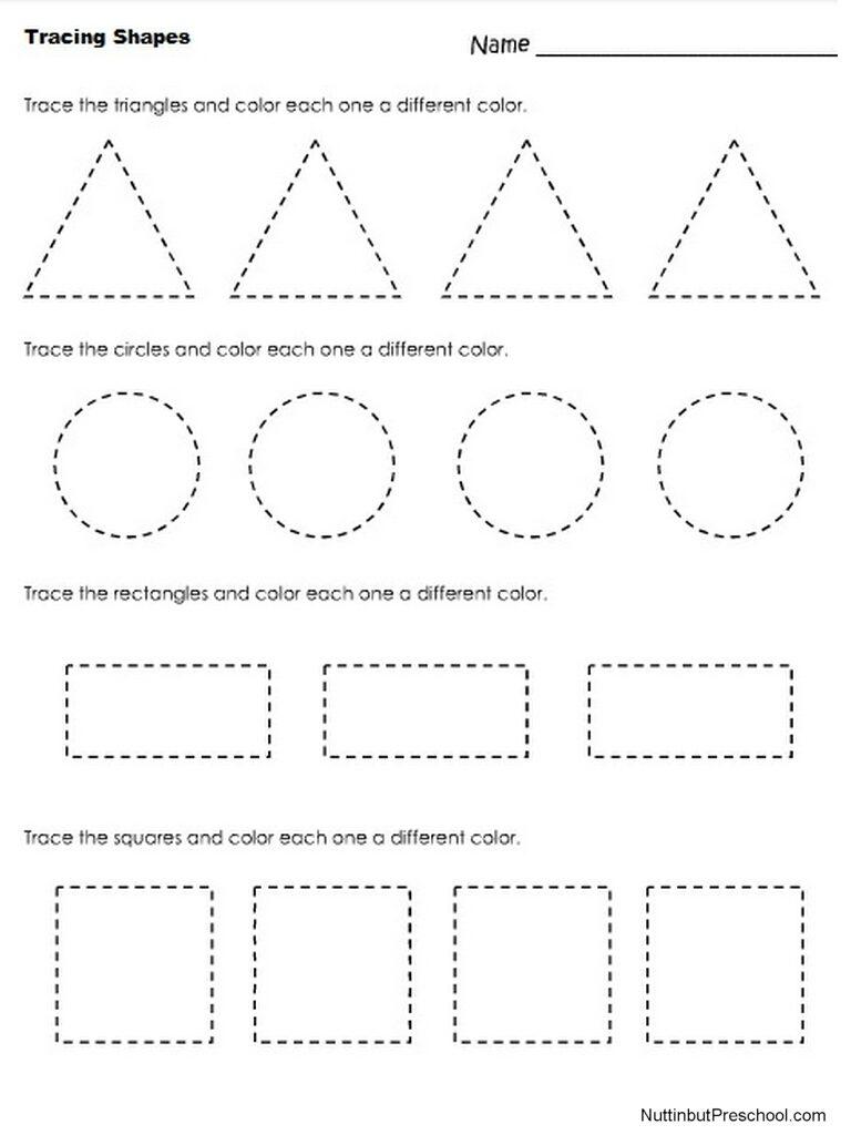 Worksheet Archives – Nuttin' But Preschool Preschool Worksheets