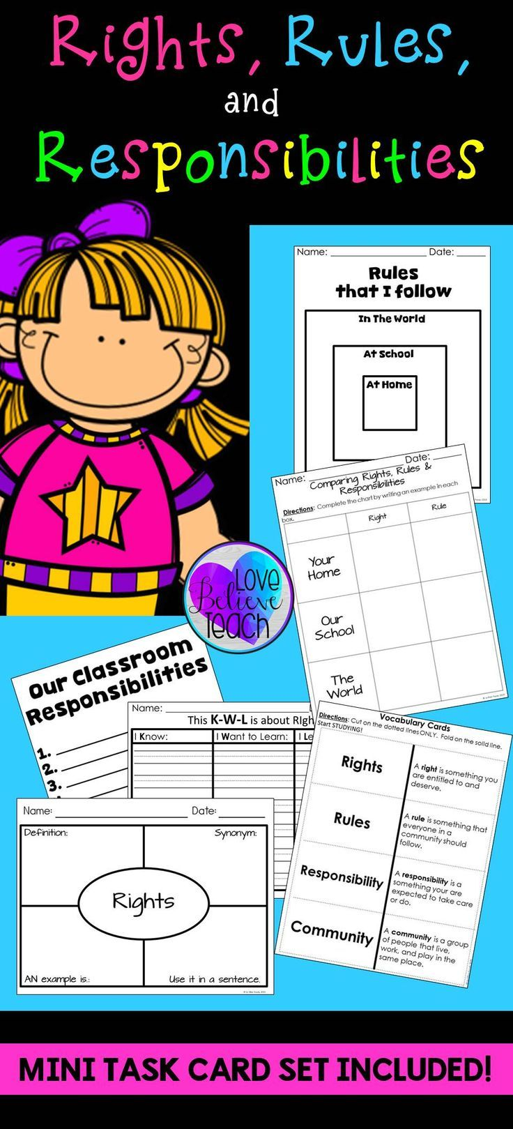 20 Best Bill Of Rights For Citizens Images On Worksheets Samples