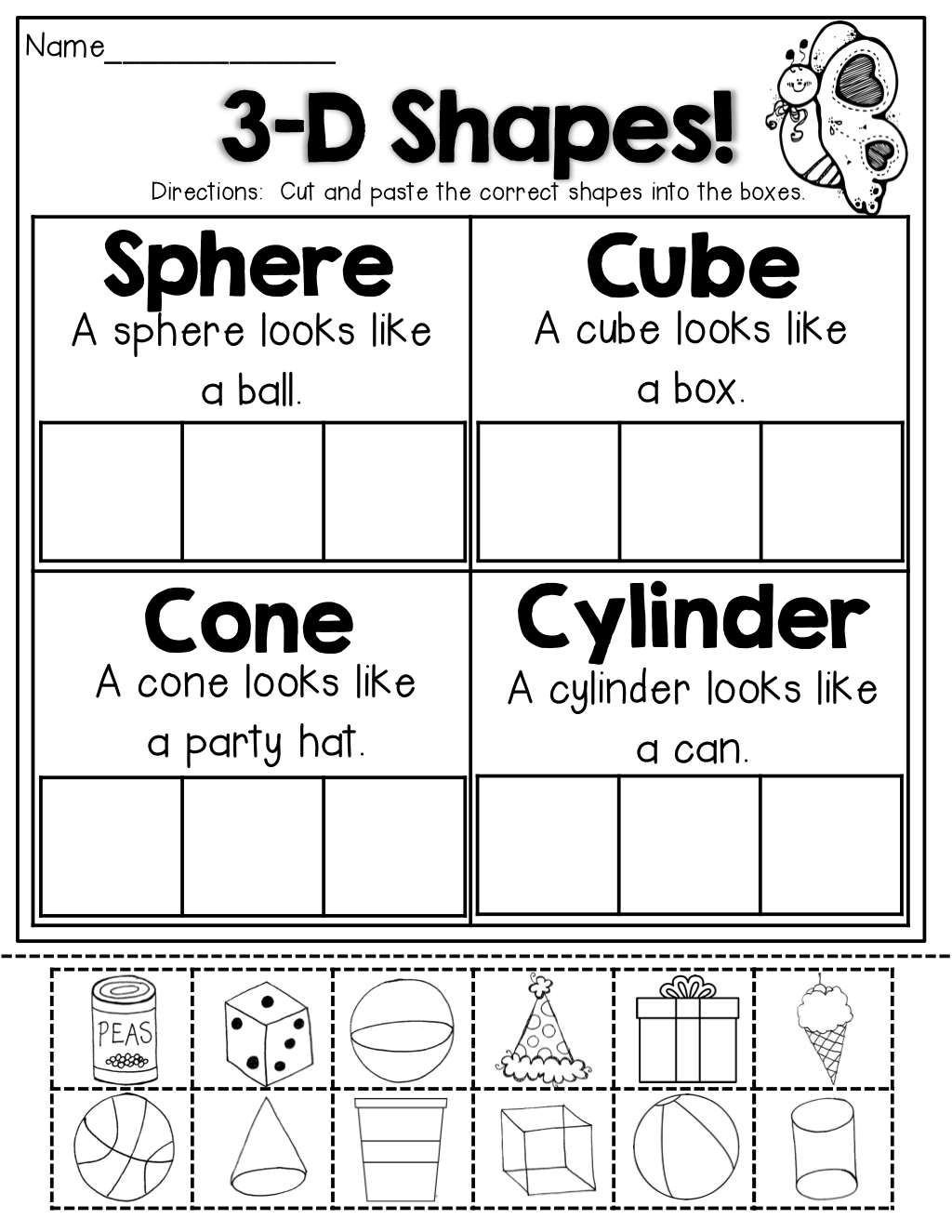 Funky Pre Kindergarten Math Worksheets Comparing Numbers And Size ...