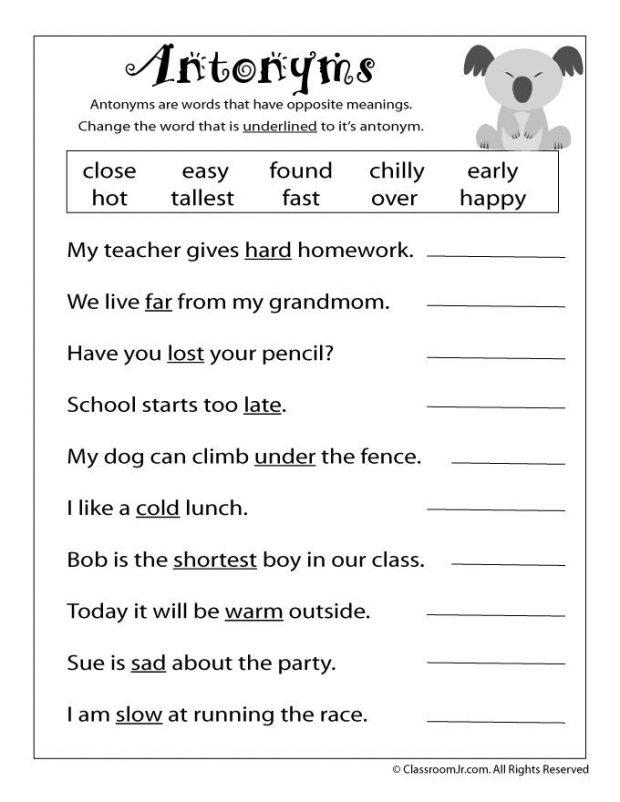 50 3rd Grade Reading Worksheets Portray – Ideastocker