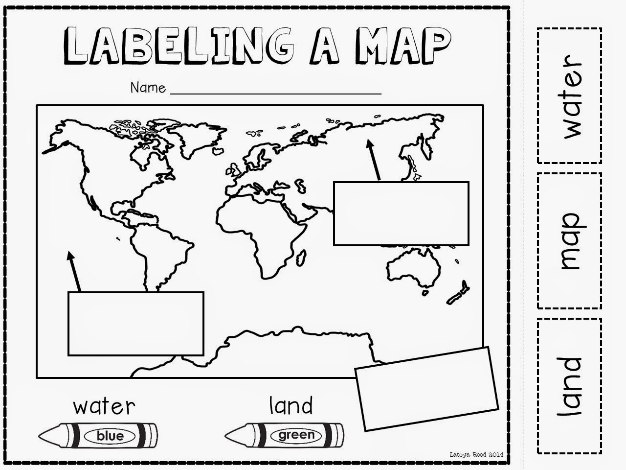 Agreeable Map Worksheets For First Graders Also Worksheets For 2nd