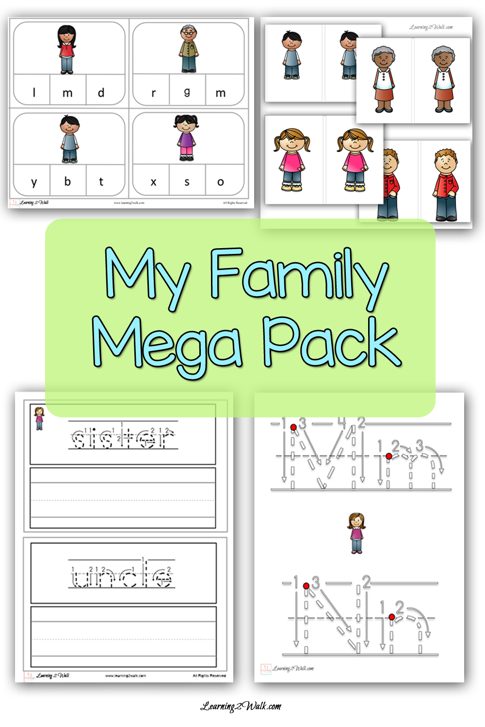 All About The My Family Mega Pack