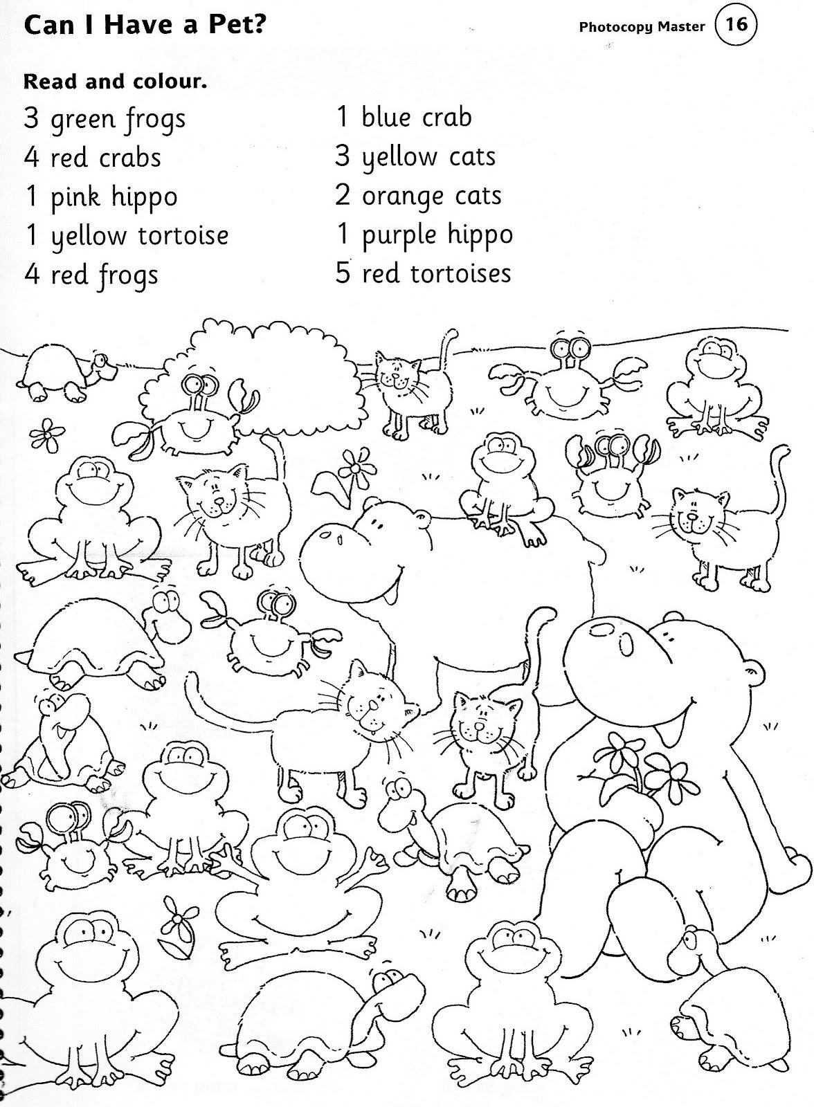 Animal Worksheets Printables