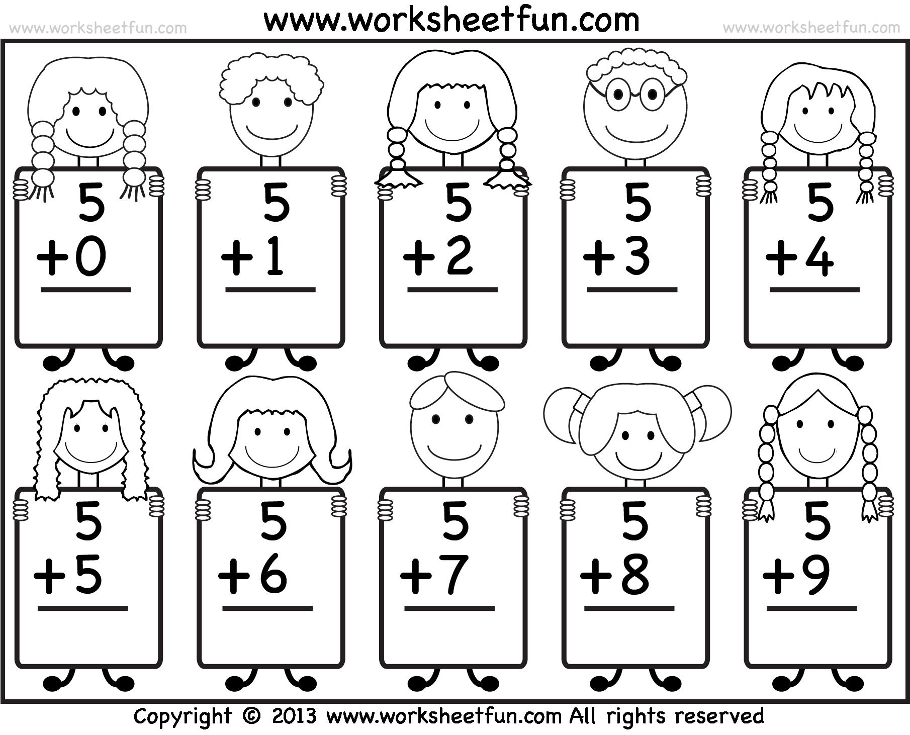 Awesome Sr Kg Maths Worksheets Component