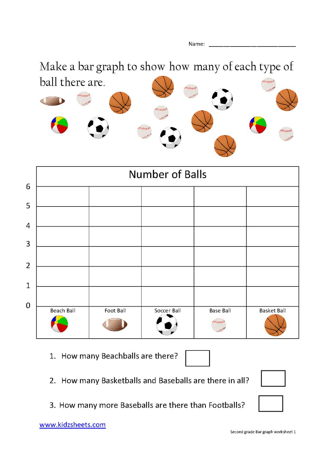Bar Graph Worksheets For Kids Worksheets For All