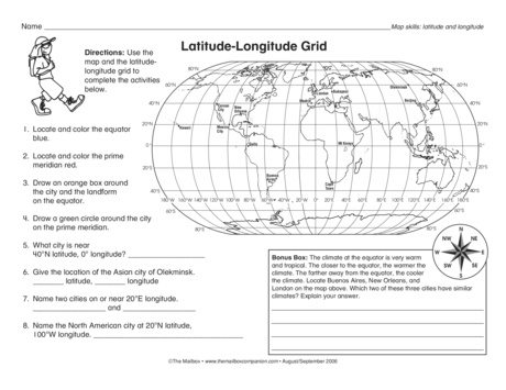 Best Ideas Of Longitude And Latitude Worksheets On Summary Sample