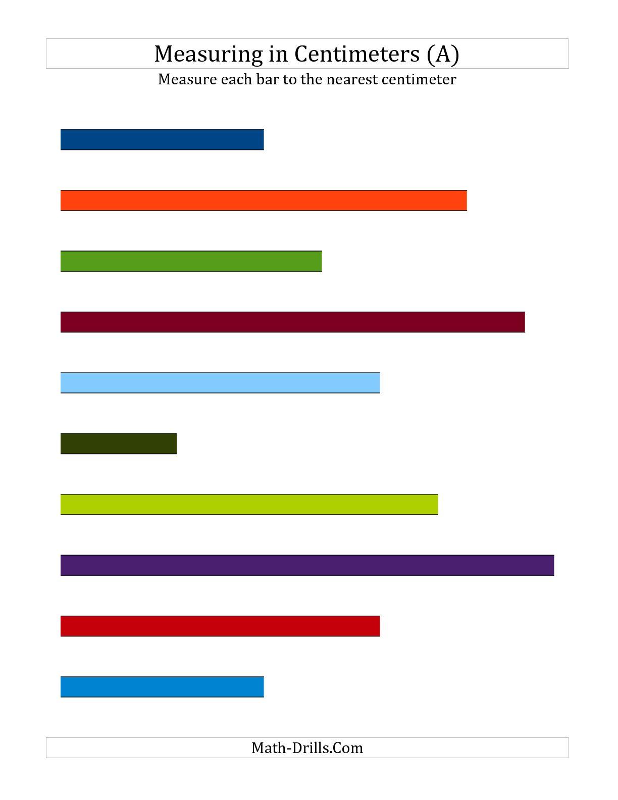 Centimeter Worksheet The Best Worksheets Image Collection