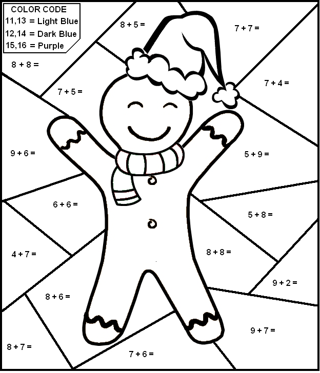 Christmas Subtraction Worksheets Worksheets For All