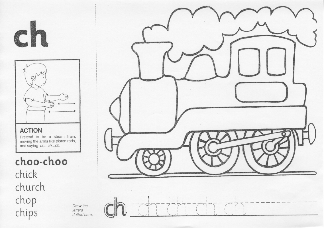 Collection Of Jolly Phonics Ch Worksheet