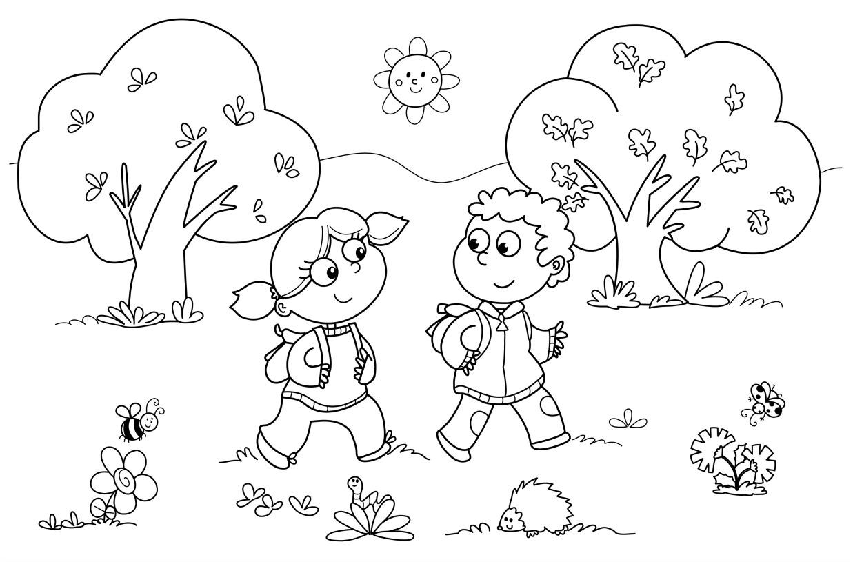 Color Worksheet For Kindergarten Worksheets For All
