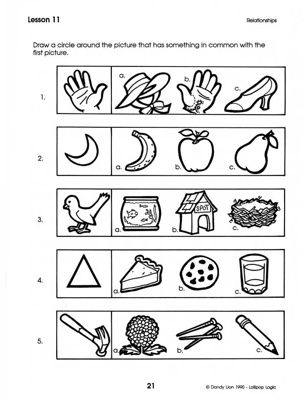 Critical Thinking Activities For Preschoolers & Jeremy Renner