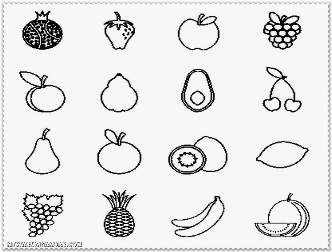 Cucumber Leaves Vegetables Coloring Pages For Kids Printable