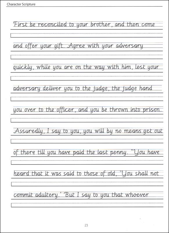 Cursive Handwriting Paragraph Worksheets The Best Worksheets Image