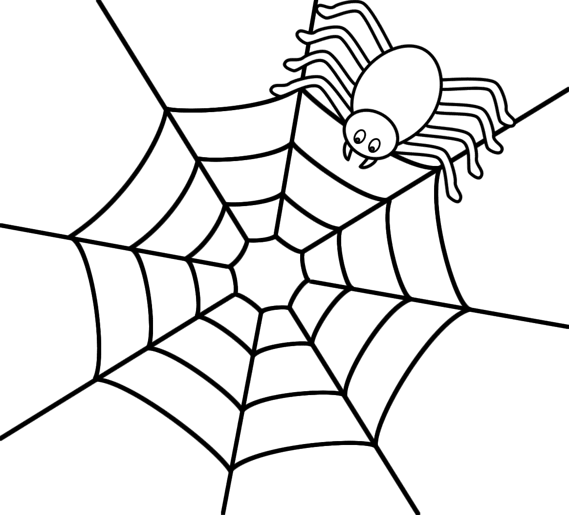 Cute Spider Template For Quiet Book Pagemdb