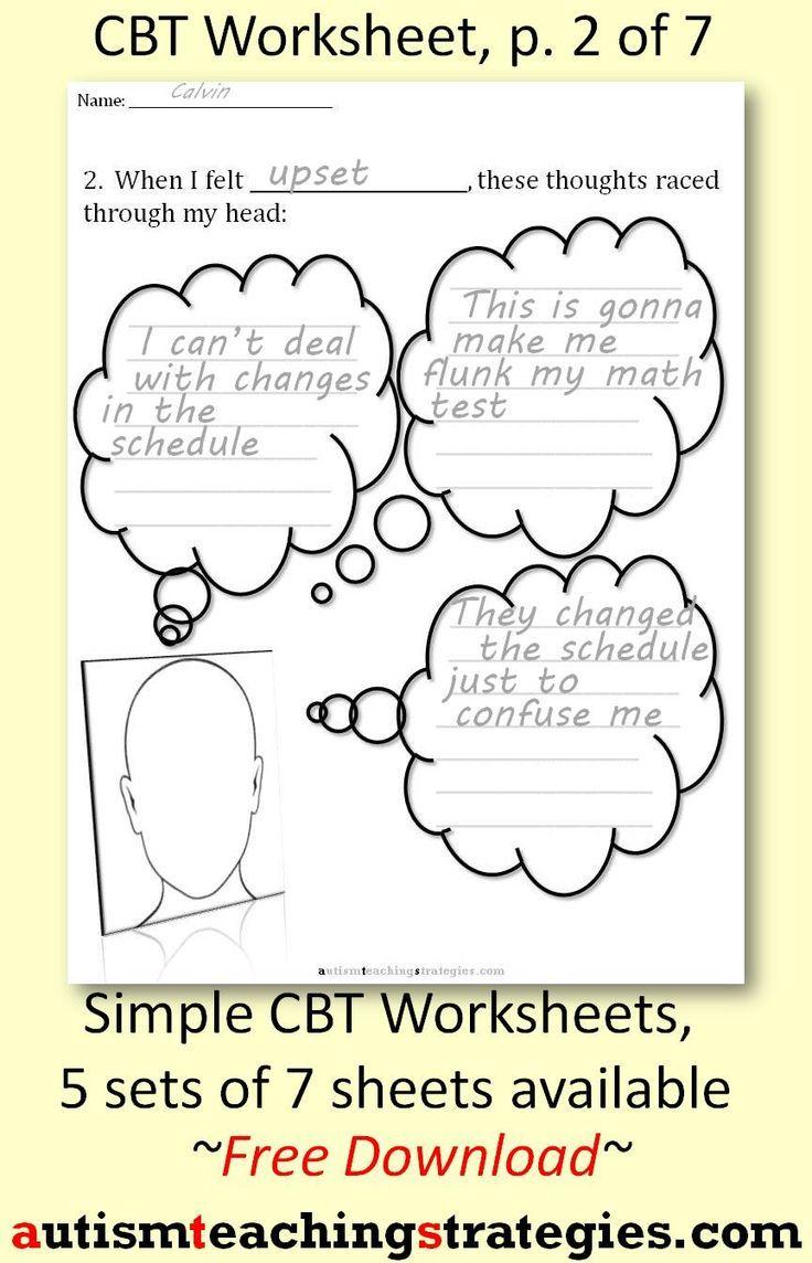 David Burns Cognitive Distortions Worksheet
