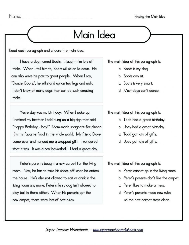 Editing Worksheets 3rd Grade