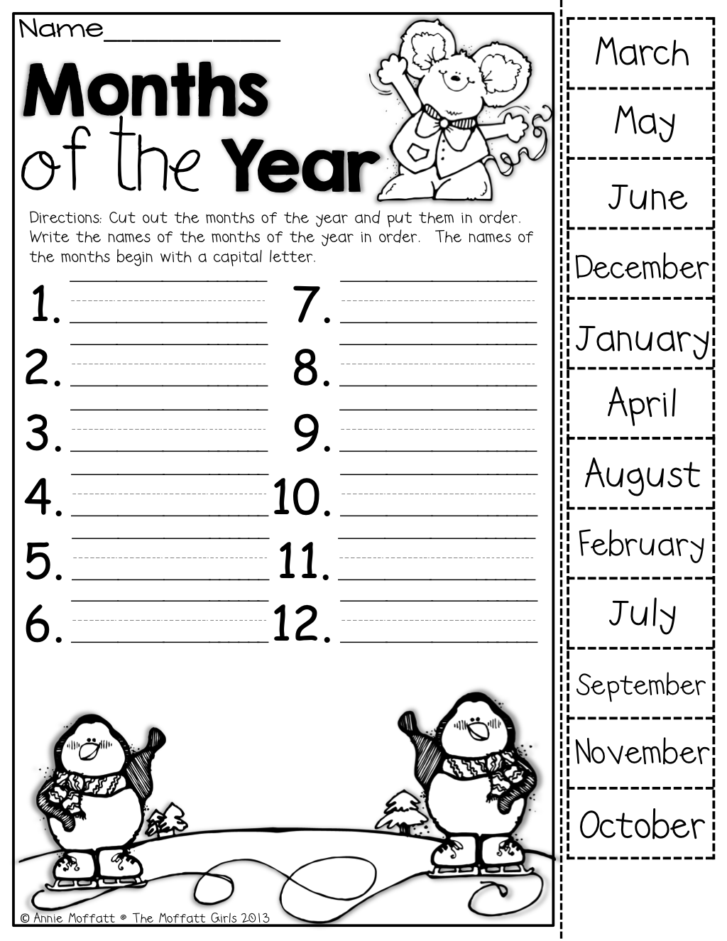 End Of Year Worksheets 4th Grade Worksheets For All